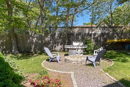 Oak Bluffs Martha's Vineyard vacation rental - BBQ and sitting area