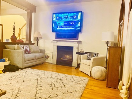 Oak Bluffs Martha's Vineyard vacation rental - Flat Screen TV in Main Living Room