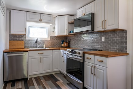 Oak Bluffs, Historic Copeland District Martha's Vineyard vacation rental - Spacious kitchen with coffee bar