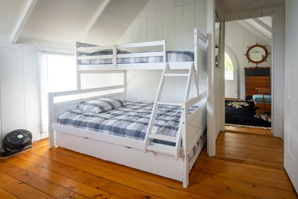 Oak Bluffs, Historic Copeland District Martha's Vineyard vacation rental - Full sized brm upstairs. includes pull out trundle (BR 2 of 5)