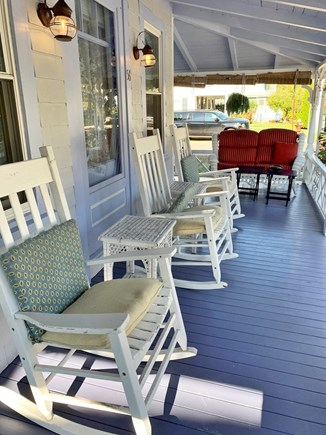 Oak Bluffs, In Town near Niantic Martha's Vineyard vacation rental - Porch