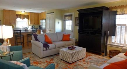 Oak Bluffs Martha's Vineyard vacation rental - Living area with media center