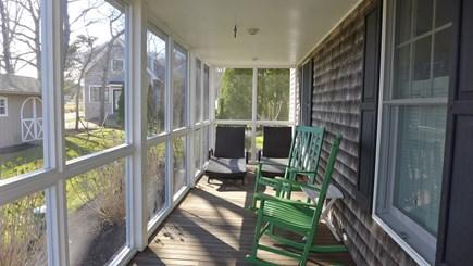 Oak Bluffs Martha's Vineyard vacation rental - Relax on the porch