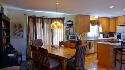 Oak Bluffs Martha's Vineyard vacation rental - Dining area/ kitchen with breakfast bar