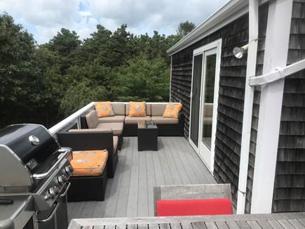 Katama - Edgartown Martha's Vineyard vacation rental - Outside portion of wrap around deck