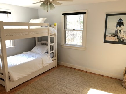 West Tisbury Martha's Vineyard vacation rental - 1st floor bedroom with Bunks