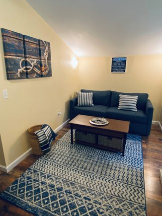 Oak Bluffs Martha's Vineyard vacation rental - Comfy living room with brand new queen sleeper sofa