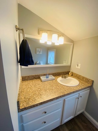 Oak Bluffs Martha's Vineyard vacation rental - Lots of storage and light in comfortable bathroom