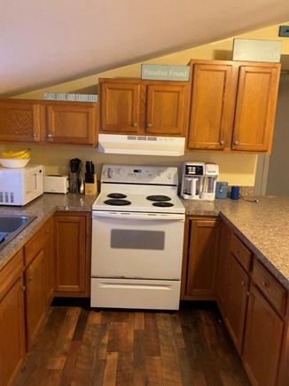 Oak Bluffs Martha's Vineyard vacation rental - Well-appointed kitchen with new microwave and coffee maker