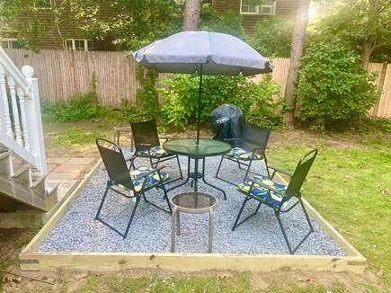 Oak Bluffs Martha's Vineyard vacation rental - Recently added patio with charcoal grill