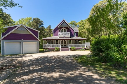 Oak Bluffs Martha's Vineyard vacation rental - Apartment over garage with great Victorian color and style