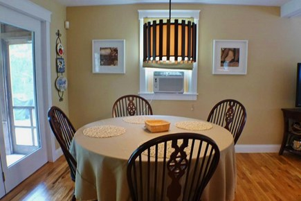 Oak Bluffs Martha's Vineyard vacation rental - Dining area opens to back screened porch