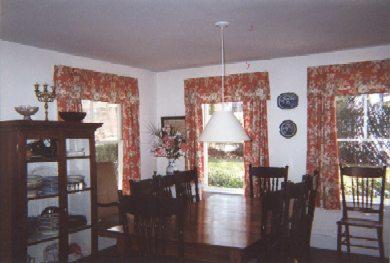 52 Church Avenue, Oak bluffs Martha's Vineyard vacation rental - One of two dining areas