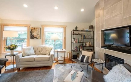 Chilmark Martha's Vineyard vacation rental - Relax in the comfy living room.