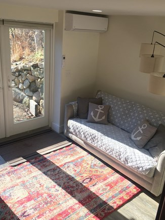 Chilmark Martha's Vineyard vacation rental - The downstairs den is the perfect place to relax after the beach.