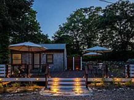 Chilmark Martha's Vineyard vacation rental - Light-up the deck for drinks and dinner outside.