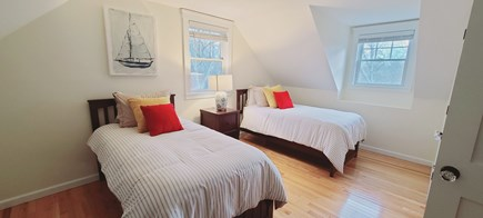 Oak Bluffs Martha's Vineyard vacation rental - The second bedroom features two comfortable twin beds.