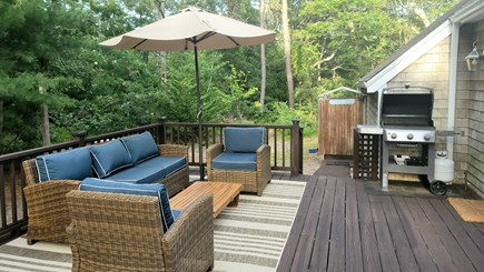 Oak Bluffs Martha's Vineyard vacation rental - Just the spot to grill dinner and chill with friends.