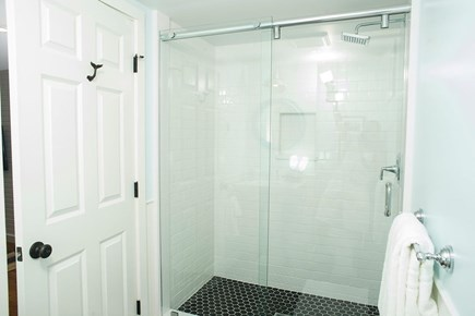 Edgartown Martha's Vineyard vacation rental - Basement bathroom with heated floor.
