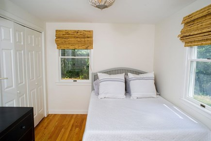 Edgartown Martha's Vineyard vacation rental - First floor bedroom with a full sized bed.