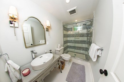 Edgartown Martha's Vineyard vacation rental - First floor bathroom with a heated floor.