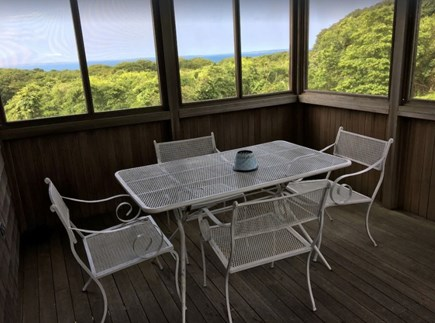 Aquinnah Martha's Vineyard vacation rental - Grill not pictured
