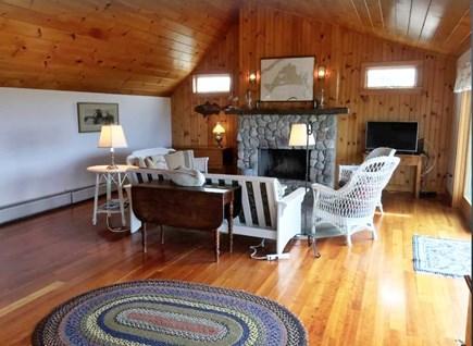 Aquinnah Martha's Vineyard vacation rental - Living room with Smart TV