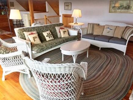 Aquinnah Martha's Vineyard vacation rental - Living room with water views