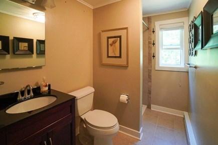 Oak Bluffs Martha's Vineyard vacation rental - 1st FL full BA w/ shower, off rear hallway