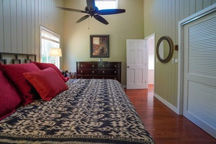 Oak Bluffs Martha's Vineyard vacation rental - 2nd FL large king BR. 2021 = all new bedding