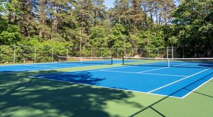 Oak Bluffs Martha's Vineyard vacation rental - Senge's private tennis courts