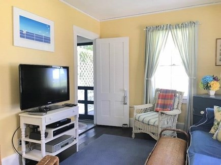 Oak Bluffs Martha's Vineyard vacation rental - TV room on first floor