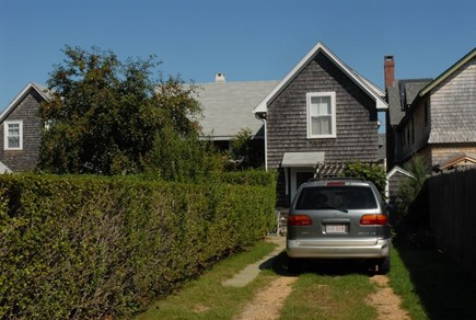 Oak Bluffs Martha's Vineyard vacation rental - 2 car driveway in back of house off of Simpson Ave