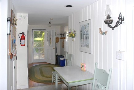 Oak Bluffs Martha's Vineyard vacation rental - Entrance from back door into kitchen