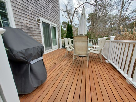 Oak Bluffs, 02557 Martha's Vineyard vacation rental - Spacious deck for outdoor fun!