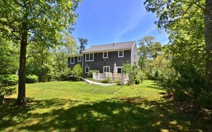 Oak Bluffs, 02557 Martha's Vineyard vacation rental - Spacious back yard