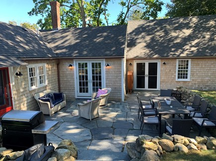 Vineyard Haven Martha's Vineyard vacation rental - The sunken patio is a perfect place to enjoy the outdoors.