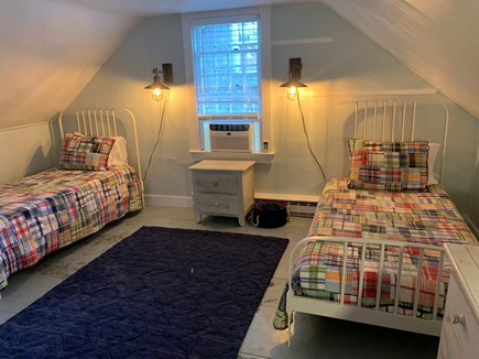 Vineyard Haven Martha's Vineyard vacation rental - Two twin beds are in the addition upstairs bedroom.