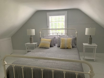 Vineyard Haven Martha's Vineyard vacation rental - A queen sized bed located in one of the two upstairs bedrooms.