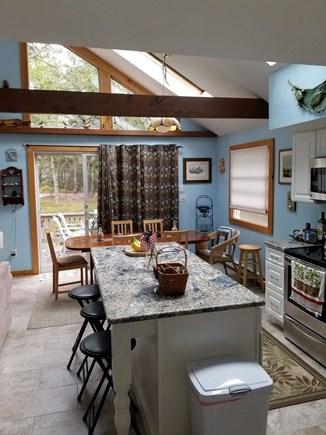 Katama - Edgartown Martha's Vineyard vacation rental - Kitchen looking toward dining area