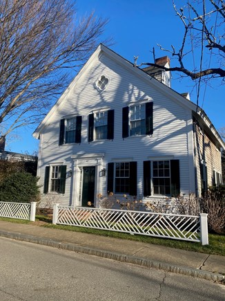 Edgartown Martha's Vineyard vacation rental - Front of house from across the street