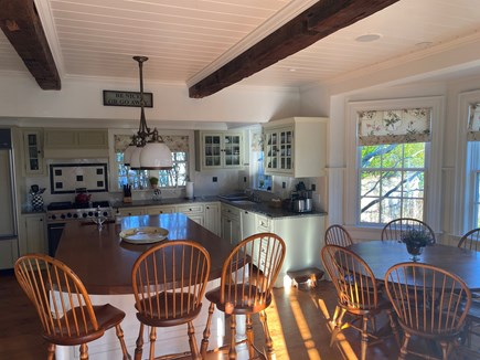 Edgartown Martha's Vineyard vacation rental - Large open Kitchen