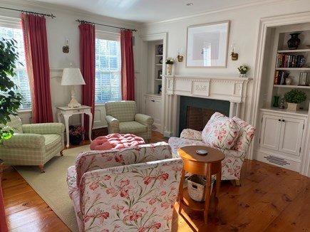 Edgartown Martha's Vineyard vacation rental - One sitting room. There are three others.