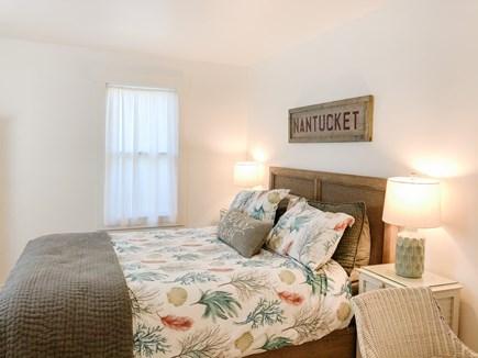 West Tisbury Martha's Vineyard vacation rental - Third bedroom with queen bed and desk.