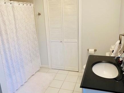 Edgartown Martha's Vineyard vacation rental - Spacious first floor bathroom & doorway to laundry room