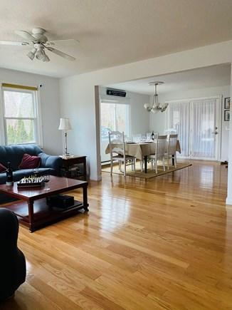 Edgartown Martha's Vineyard vacation rental - Spacious living room opens to dining area. Hardwood throughout.