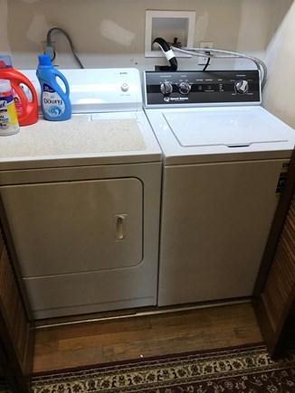 Katama-Edgartown, Katama Bay Martha's Vineyard vacation rental - Convenient laundry in hallway closet
