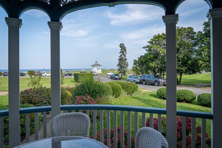 Heart of Oak Bluffs Martha's Vineyard vacation rental - The views from the porch out to the ocean are outstanding!