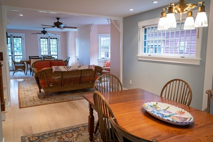 Heart of Oak Bluffs Martha's Vineyard vacation rental - Dining area