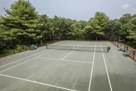 Chilmark - Quansoo Beach Martha's Vineyard vacation rental - Private Tennis Court
